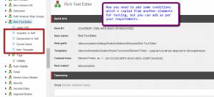 RTE-Sitecore-Tag-Element-Conditions