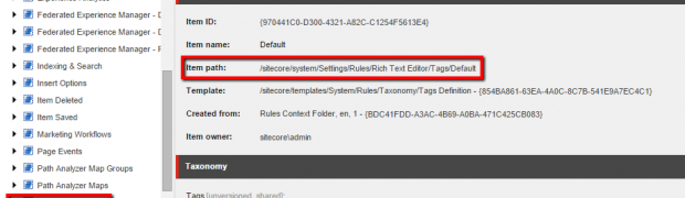 Customise Sitecore Rich Text Editor using Rules